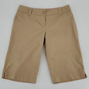 New York & Co. Manhattan Chino Shorts Size…
